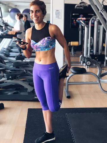 Carolina Gomes da Silva fitness instagrammer