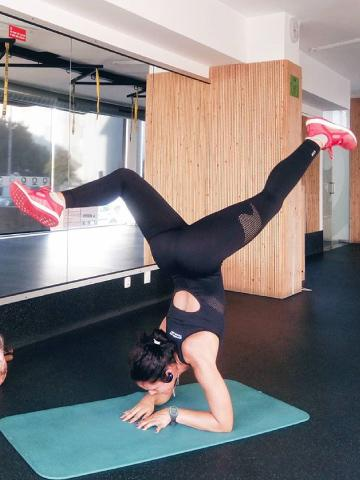 Inês Direito fitness instagrammer